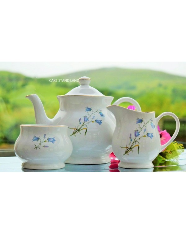 (OUT OF STOCK) SADLER HAREBELL TEAPOT SET